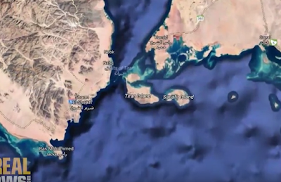 Tiran and Sanafir Islands