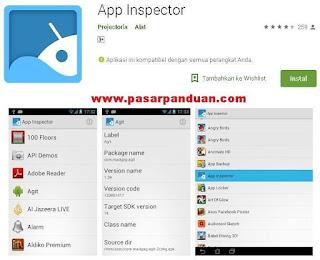 menghapus aplikasi bawaan android dengan app inspector