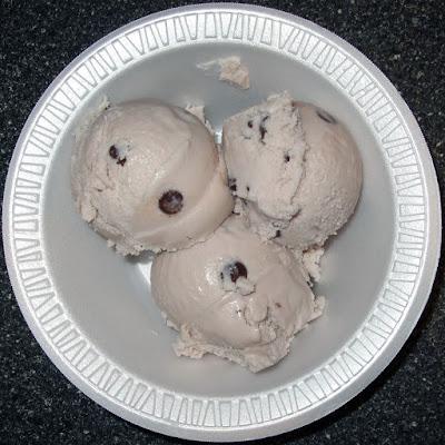 Scoops of ice cream.