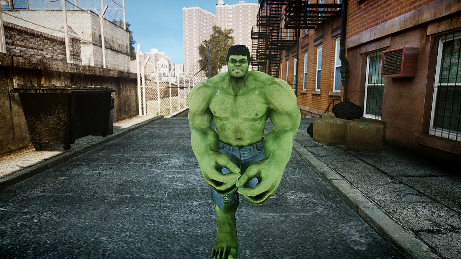 GTA 5,GTAV,GTA IV Mods and Skins: GTA IV HULK