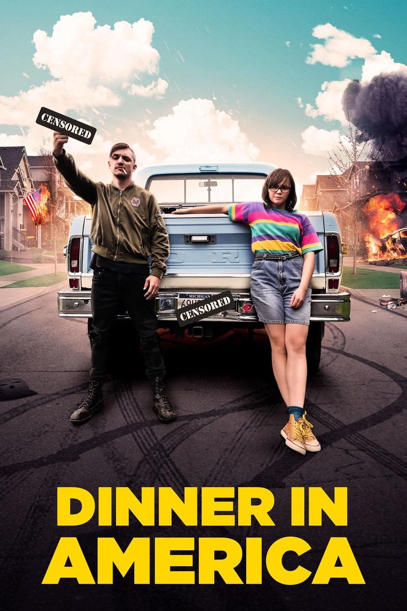 dinner in america poster
