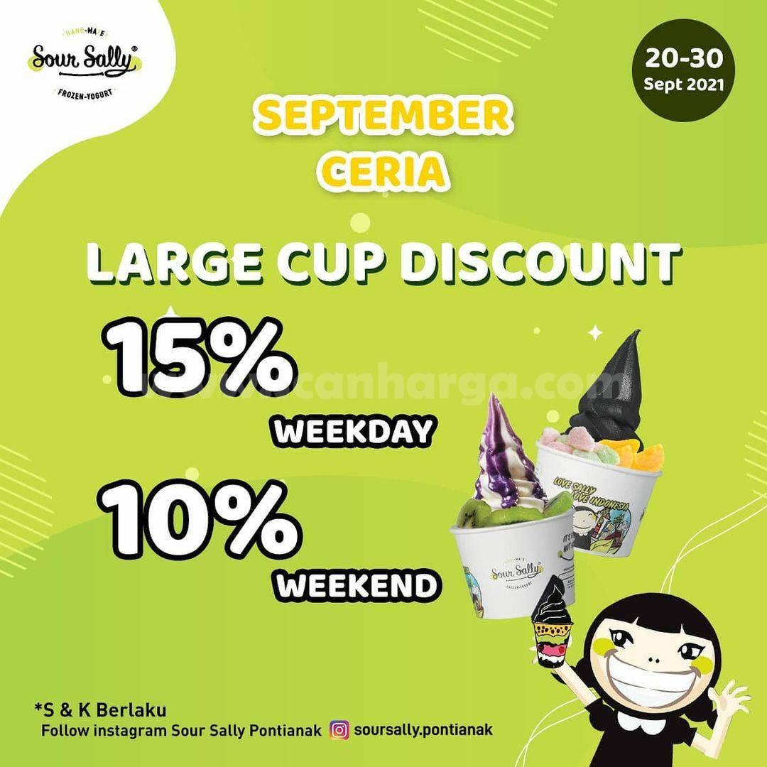 SOUR SALLY Promo September Ceria - Diskon hingga 15%