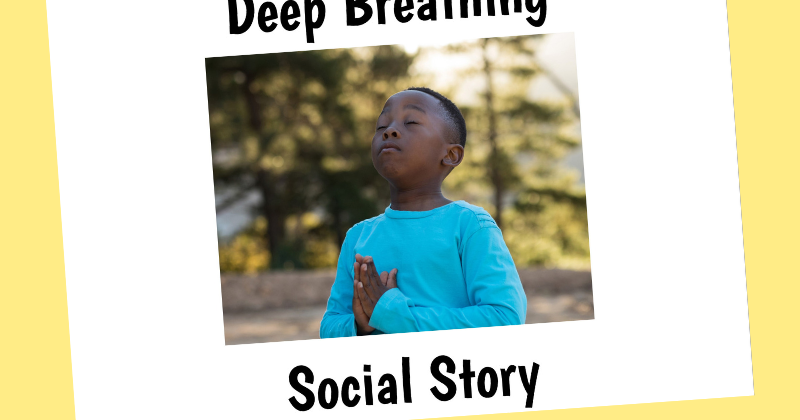 image regarding Free Printable Social Stories for Preschoolers identify Totally free Printable Deep Respiratory Social Tale And Up coming Will come L