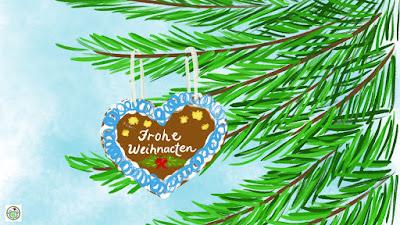 Frohe Weihnacten E Card