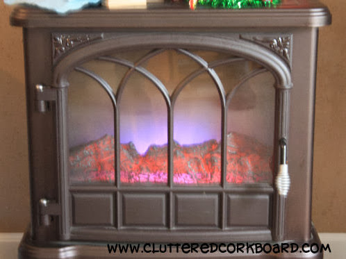 (Faux) Fireplace Mantel...