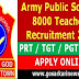 Army Public Schools Teachers Recruitment 2019:8000 Posts