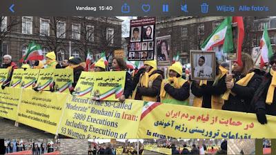 مظاهرات وتجمعات للإيرانيين في لاهاي وبرن ومعرض لصور شهداء انتفاضة إيران في ستوكهولم  دعمًا لانتفاضة الشعب الإيراني ودعوة الأمم المتحدة لإرسال بعثة إلى إيران للقاء بالمعتقلين