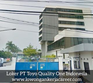 Lowongan Kerja PT Toyo Quality One Indonesia 2020 Jl Cimareme Padalarang