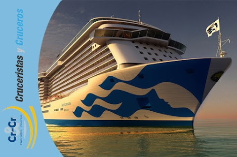 NOTICIAS DE CRUCEROS - Majestic Princess será el primer barco de Princess Cruises en lucir el icónico logo de la compañía en su casco