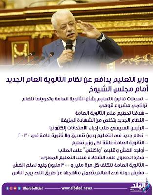محامي الطلبه يكشف سرالبقاء علي طارق شوقي وزير للتعليم