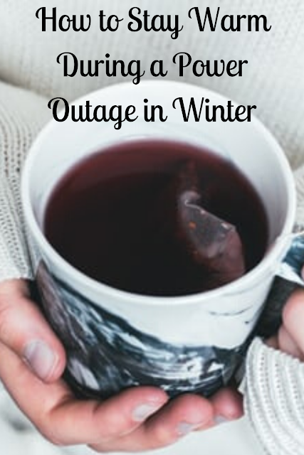 How to Stay Warm During a Power Outage in Winter