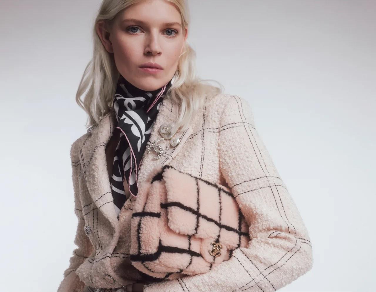 Chanel Shearling Lambskin Large Flap Bag