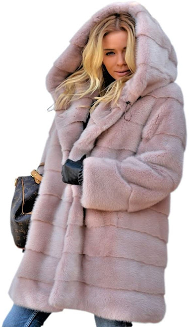 Women's Plus Size Faux Fur Coats Jackets