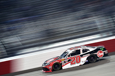 Christopher Bell driver of the #20 Rheem Toyota (Richmond Raceway, Virginia)