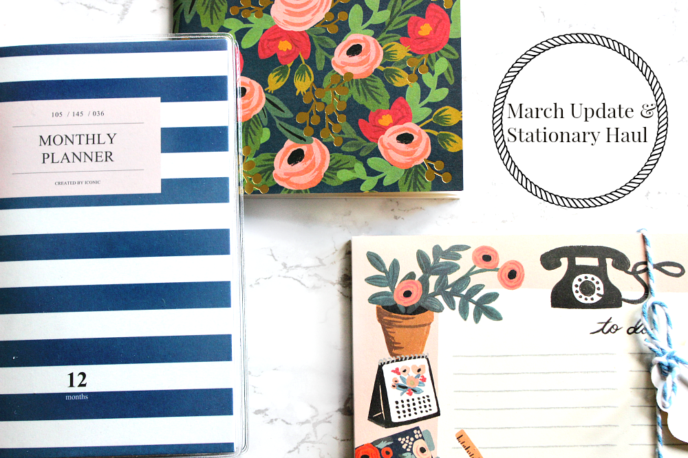 march update the fox and star stationary