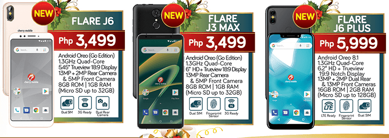 Cherry Mobile Flare J6 Plus has a notch under PHP 6K, releases Flare J6 and J6 Max too