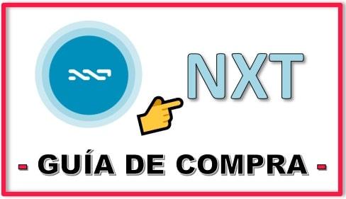 Cómo y Dónde Comprar Criptomoneda NXT Tutorial Actualizado