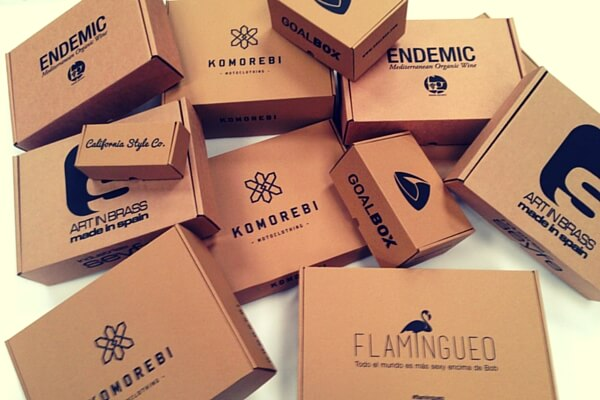 cajas para envios personalizadas