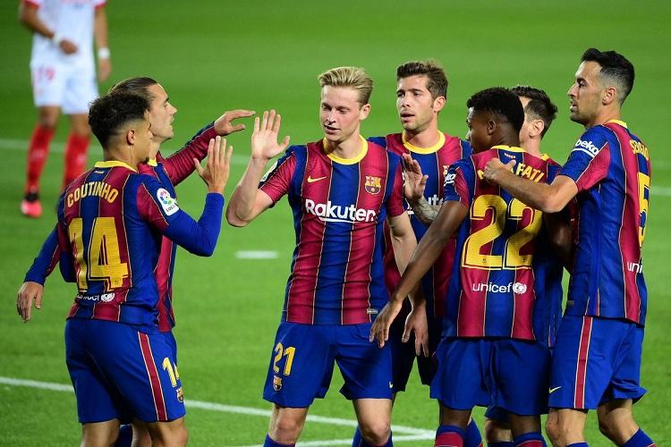 القنوات الناقلة مباراة برشلونة وقادش اليوم 2021/9/23 في الدوري الاسباني