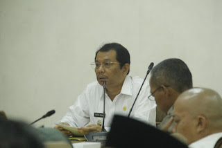 Plt Bupati Indramayu Pimpin Rakor Kesiap Siagaan Penanggulangan Bencana