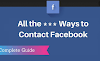 CONTACT FACEBOOK – HOW TO CONTACT FACEBOOK CUSTOMER SERVICE
