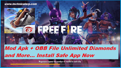 Garena Free Fire Unlocked Mod App Android