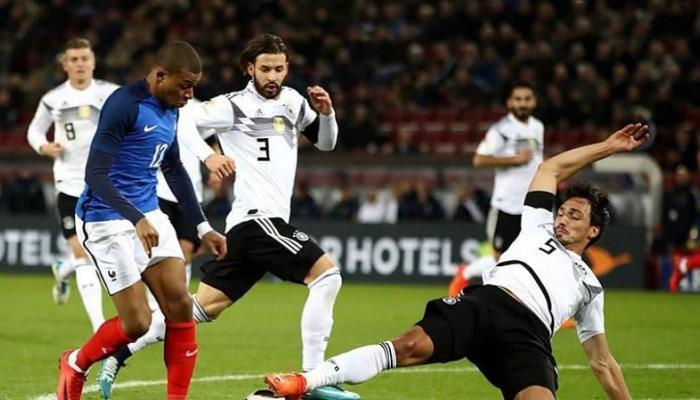 تعرف على موعد مباراة ألمانيا ضد فرنسا والقنوات الناقلة لها