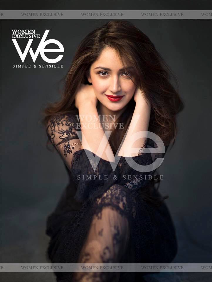 Sayyeshaa WE Magazine Photoshoot
