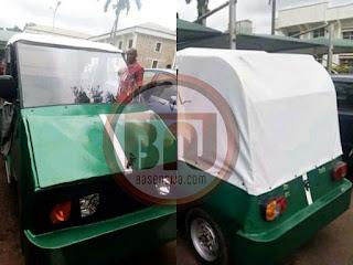 Nigerian First Electric Car Build By UNN