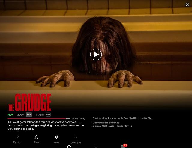 The Grudge Netflix