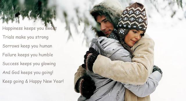 Romantic Happy New Year Wishes For Boyfriend