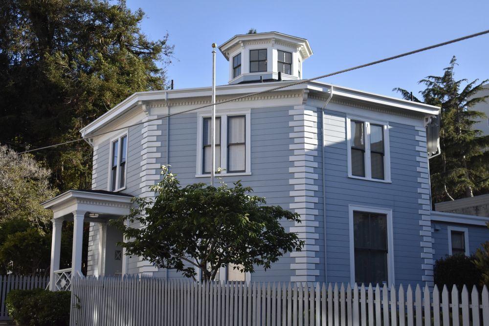 The McElroy Octagon House on Gough St. San Francisco, California