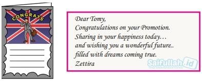 Tomy baru saja dipromosikan menjadi manajer cabang Perusahaan Jepara Ukir di London.