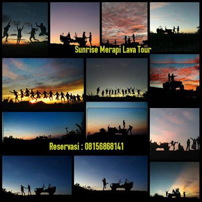 Spot Photo Pre Weding di Merapi saat sunrise diantaranya Bunker kaliadem, material Panas, Stonehenge, Jembatan gantung kali Opak, Lost World caste