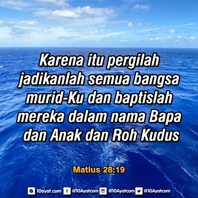Matius 28:19