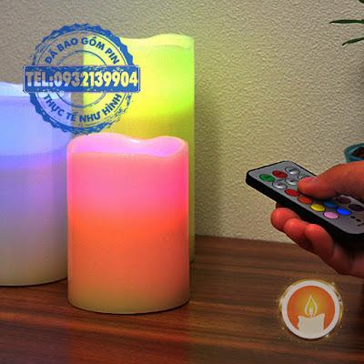 Đèn led trụ sử dụng tuỳ chỉnh 12 màu