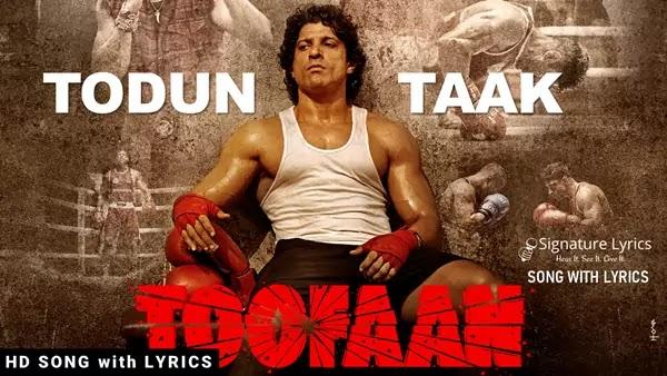 Todun Taak Lyrics - Toofaan   D'Evil