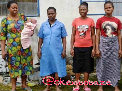 Woman sells her newborn for 500k after lying to her husband in Imo state (Photo)