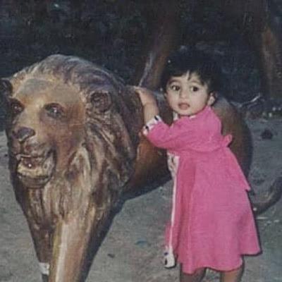 Aditi Prabhudeva's childhood photo
