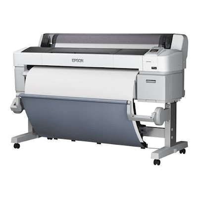 inch Colour Inkjet Large Format Printer with  Epson SureColor SC-T5000 Driver Downloads