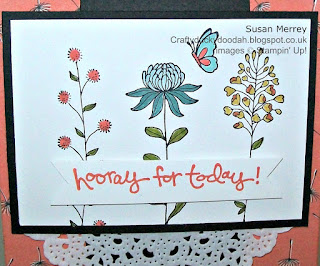 Susan Simpson (Merrey) Independent Stampin' Up! Demonstrator, Craftyduckydoodah!, Flowring Fields,