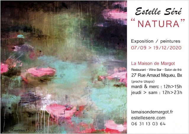 "Exposition ""Natura"" - Estelle Séré - La maison de Margot à Bordeaux"