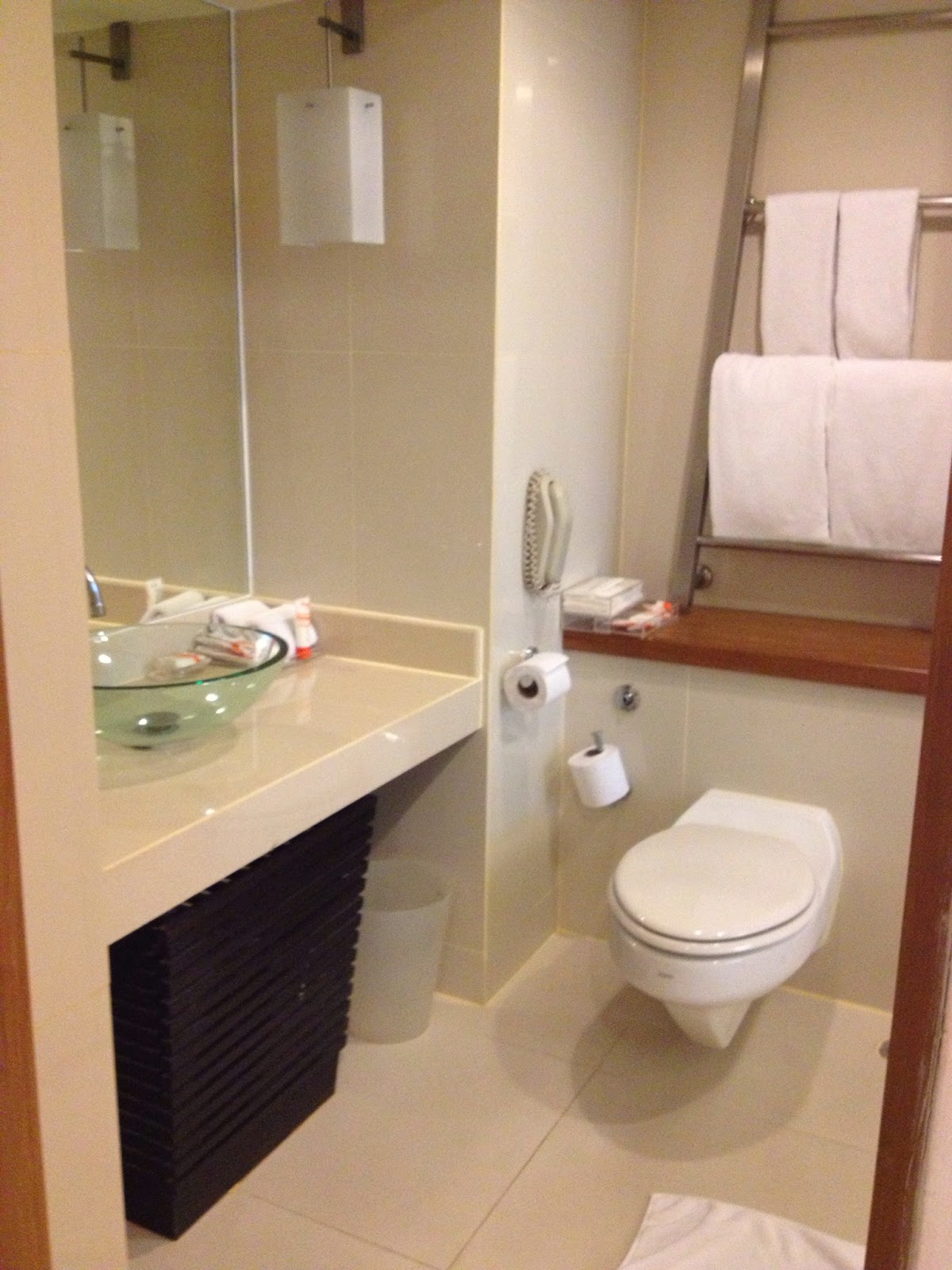 Chiang Mai - Our bathroom at Dusit D2