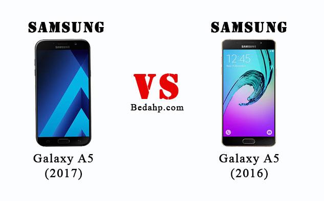 Perbedaan Samsung Galaxy A5 (2017) VS A5 (2016)