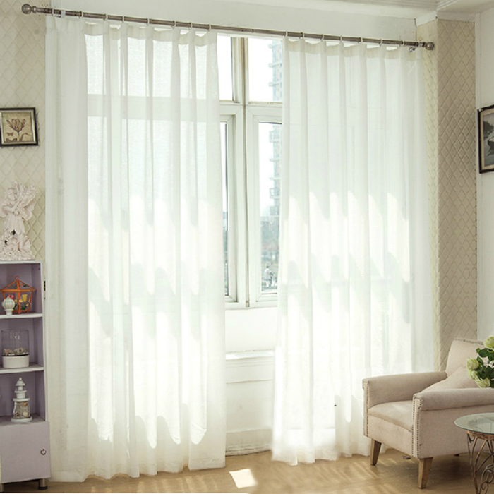 Solid Privacy sheer curtains Keep Room Privacy, curtainsmarket