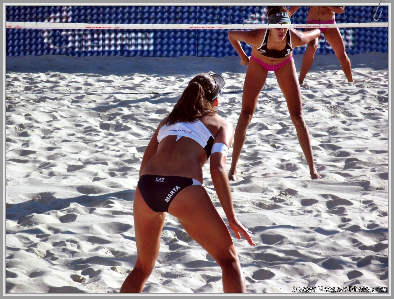 Marta Menegatti at FIVB Beach Volleyball World Tour in Moscow 2018