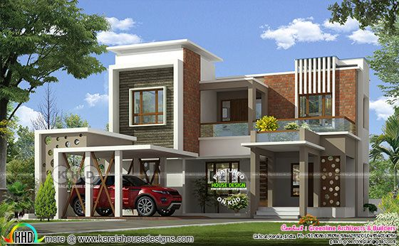 Normal single floor home to a stylish contemporary home remodeling