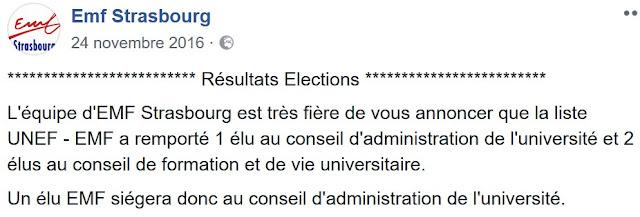L'UNEF, en perte de vitesse, s'est allié aux islamistes pour gagner des sièges aux élections.