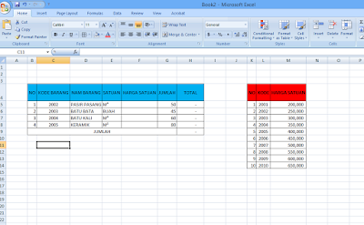 rumus vlookup di Microsoft Excel