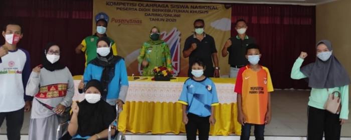 Luar Biasa, Siswa SLB Negeri Mesuji  Mewakili Lampung Pada KOSN Tingkat Nasional